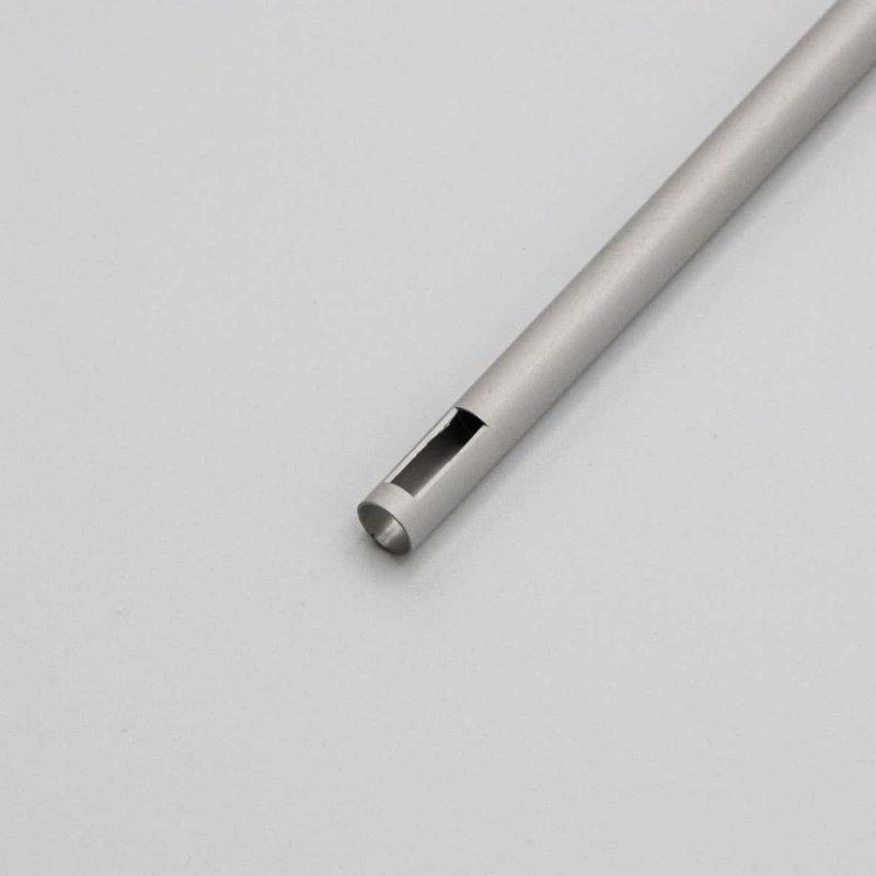 Single tube with square EDM Technology
